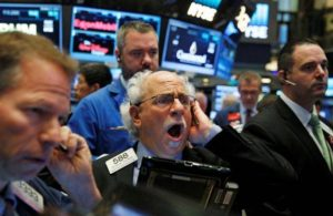 Flash crash sul Dow Jones